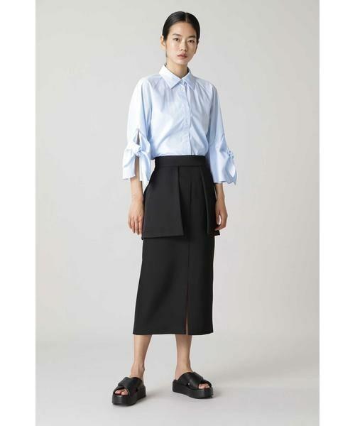 ADORE / アドーア スカート | ブライトダブルクロススカート(ブラック)