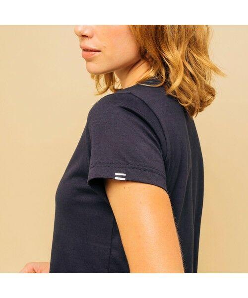 AIGLE / エーグル Tシャツ | 吸水速乾 エーグル グラフィック ロゴTシャツ | 詳細3