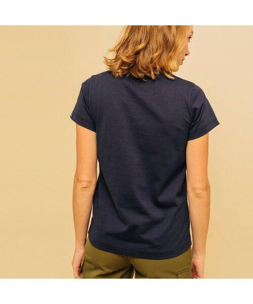 AIGLE / エーグル Tシャツ | 吸水速乾 エーグル グラフィック ロゴTシャツ | 詳細2