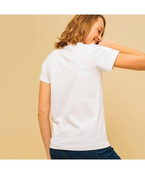 AIGLE / エーグル Tシャツ | 吸水速乾 エーグル グラフィック ロゴTシャツ | 詳細7