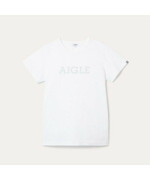 AIGLE / エーグル Tシャツ | 吸水速乾 エーグル グラフィック ロゴTシャツ | 詳細9