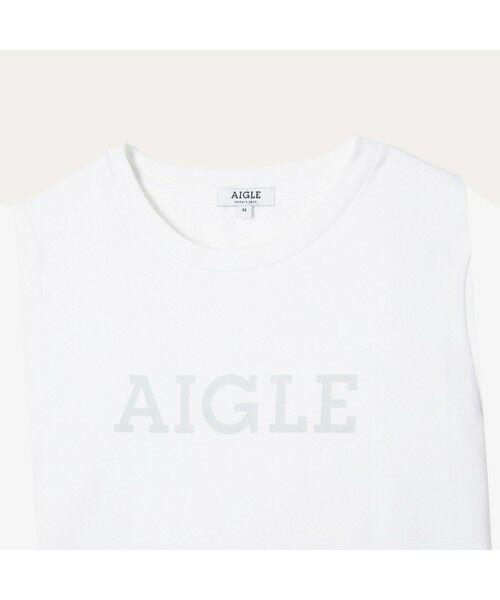 AIGLE / エーグル Tシャツ | 吸水速乾 エーグル グラフィック ロゴTシャツ | 詳細10