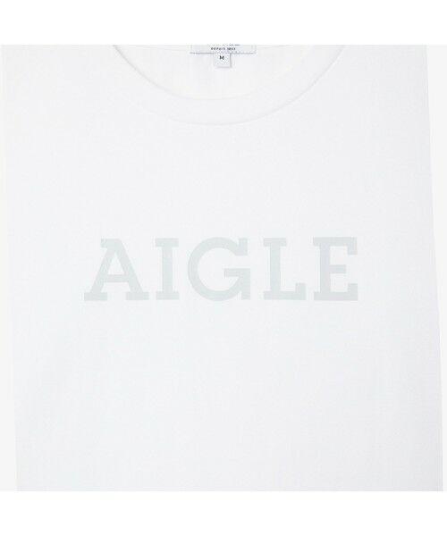 AIGLE / エーグル Tシャツ | 吸水速乾 エーグル グラフィック ロゴTシャツ | 詳細11