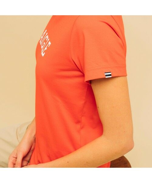 AIGLE / エーグル Tシャツ | 吸水速乾 エーグル グラフィック ロゴTシャツ | 詳細15