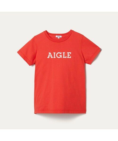 AIGLE / エーグル Tシャツ | 吸水速乾 エーグル グラフィック ロゴTシャツ | 詳細16