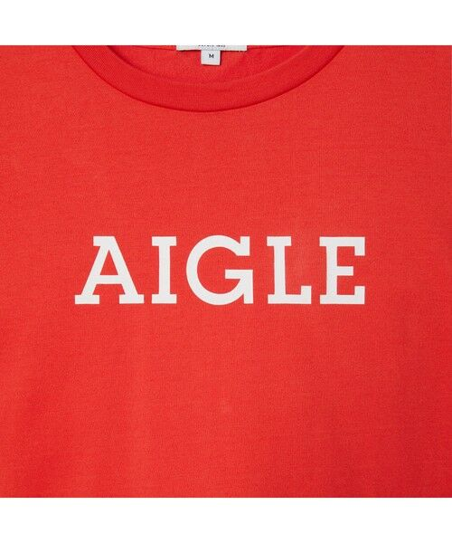 AIGLE / エーグル Tシャツ | 吸水速乾 エーグル グラフィック ロゴTシャツ | 詳細17