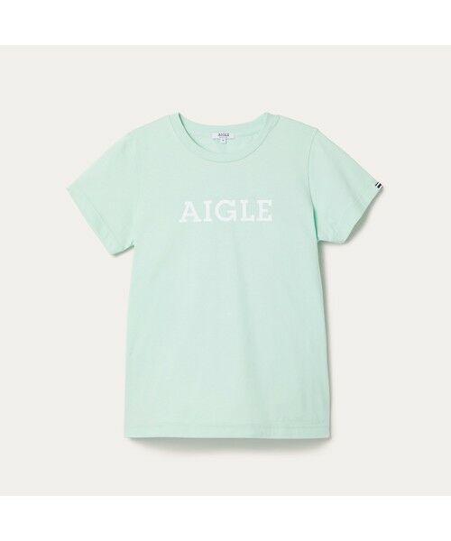 AIGLE / エーグル Tシャツ | 吸水速乾 エーグル グラフィック ロゴTシャツ | 詳細20