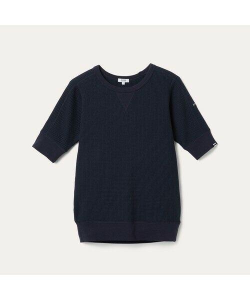 AIGLE / エーグル Tシャツ   吸水速乾 ルミラソル ワッフルTシャツ   詳細4