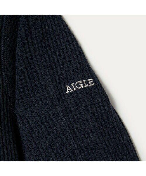 AIGLE / エーグル Tシャツ   吸水速乾 ルミラソル ワッフルTシャツ   詳細5