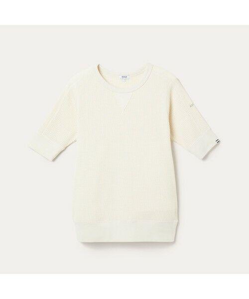 AIGLE / エーグル Tシャツ   吸水速乾 ルミラソル ワッフルTシャツ   詳細10
