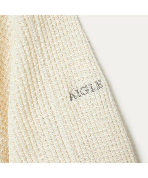 AIGLE / エーグル Tシャツ   吸水速乾 ルミラソル ワッフルTシャツ   詳細11