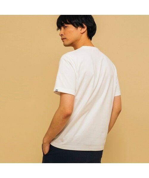 AIGLE / エーグル Tシャツ   吸水速乾 エーグル グラフィック ロゴTシャツ   詳細1