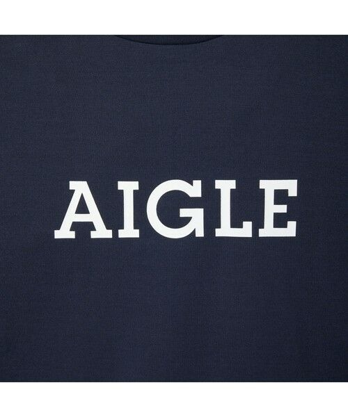 AIGLE / エーグル Tシャツ   吸水速乾 エーグル グラフィック ロゴTシャツ   詳細8