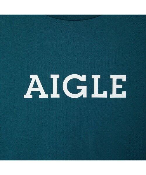 AIGLE / エーグル Tシャツ   吸水速乾 エーグル グラフィック ロゴTシャツ   詳細12