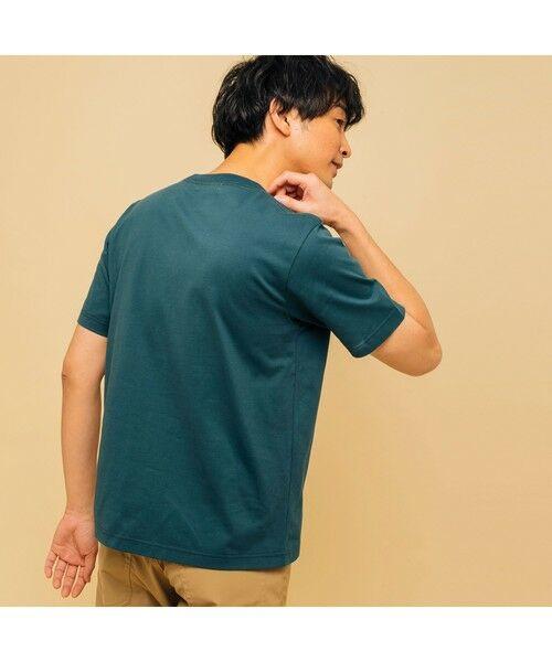 AIGLE / エーグル Tシャツ   吸水速乾 エーグル グラフィック ロゴTシャツ   詳細9