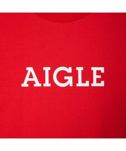 AIGLE / エーグル Tシャツ   吸水速乾 エーグル グラフィック ロゴTシャツ   詳細16