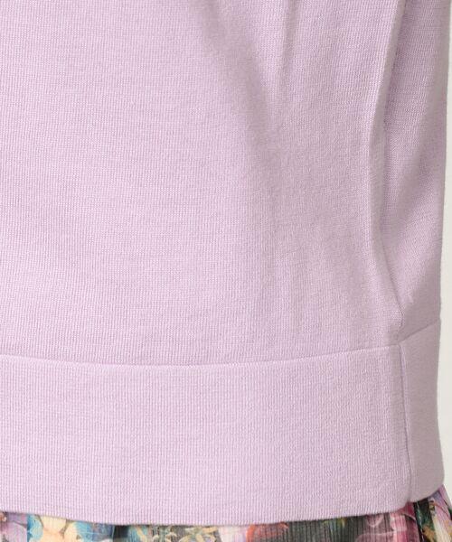 AMACA / アマカ ニット・セーター | シルクコットンカーディガン | 詳細14