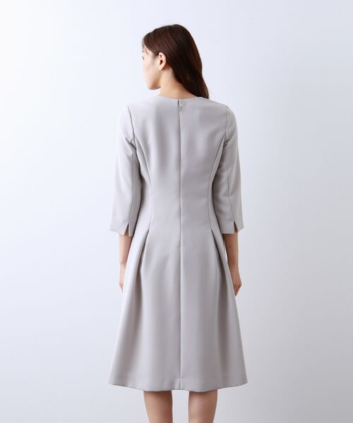 AMACA / アマカ ロング・マキシ丈ワンピース | 【Sサイズ〜】トリアセテートストレッチ ドレス | 詳細5