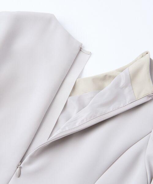 AMACA / アマカ ロング・マキシ丈ワンピース | 【Sサイズ〜】トリアセテートストレッチ ドレス | 詳細9