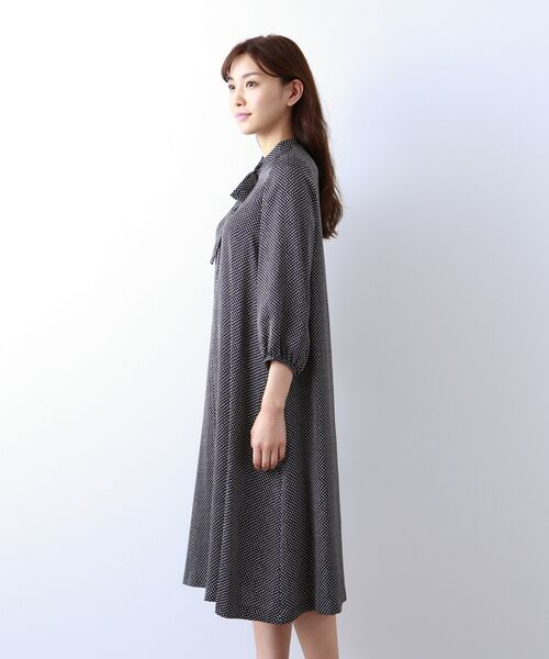 AMACA / アマカ ロング・マキシ丈ワンピース | 【Sサイズ~】小紋プリント ワンピース | 詳細4