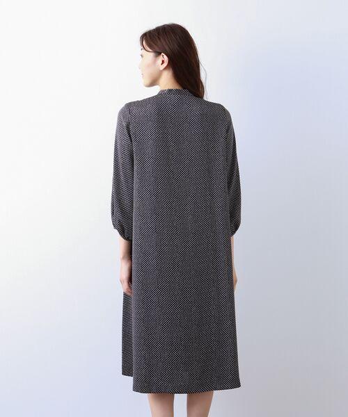 AMACA / アマカ ロング・マキシ丈ワンピース | 【Sサイズ~】小紋プリント ワンピース | 詳細5