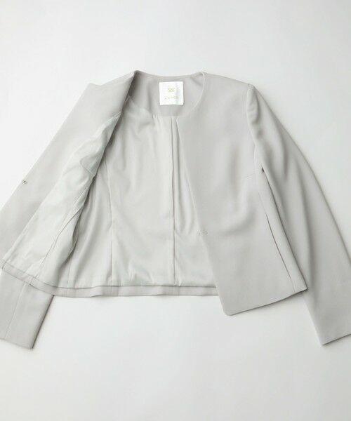 AMACA / アマカ ノーカラージャケット   ◆◆【Precious Collection】MISSIONノーカラージャケット   詳細13