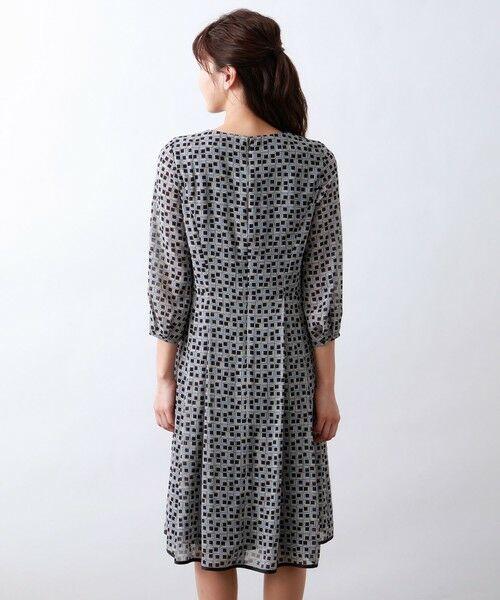 AMACA / アマカ ロング・マキシ丈ワンピース   フレームプリントドレス   詳細5