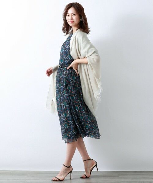 AMACA / アマカ ロング・マキシ丈スカート   【リバティ】AlpinePastureスカート   詳細1