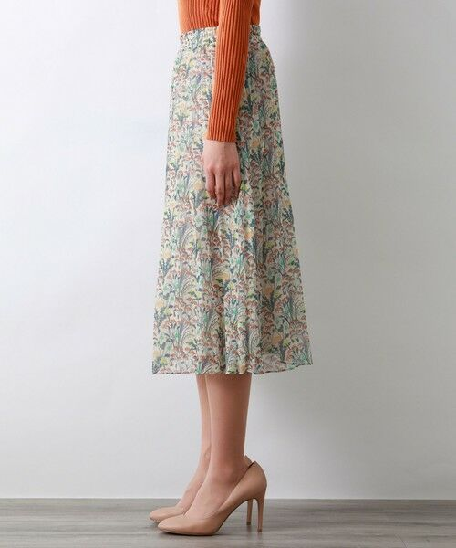 AMACA / アマカ ロング・マキシ丈スカート   【リバティ】AlpinePastureスカート   詳細5