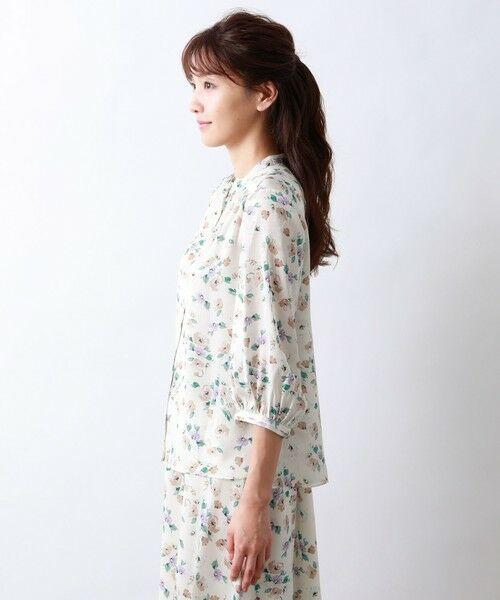 AMACA / アマカ シャツ・ブラウス   FRORAL PRINTブラウス   詳細5