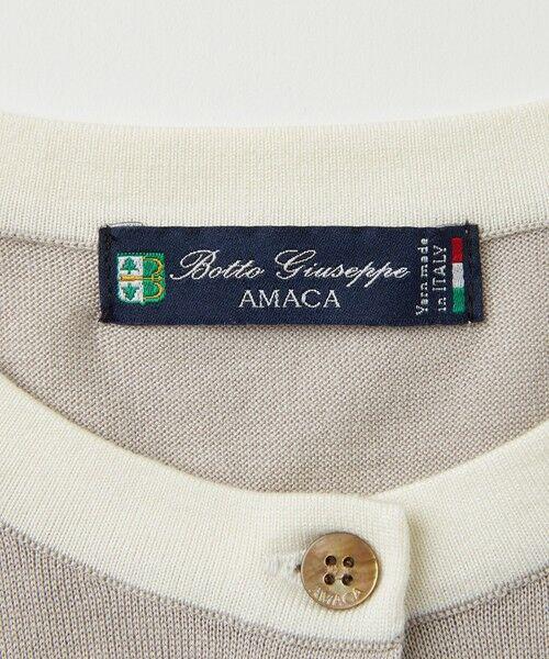 AMACA / アマカ ニット・セーター   シルクコットンカーディガン   詳細11