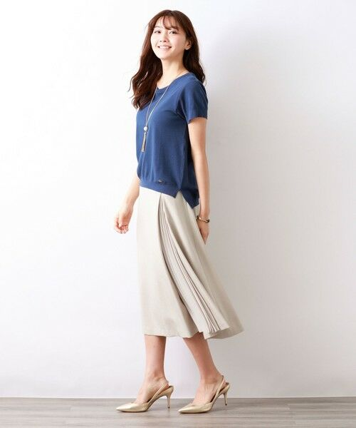 AMACA / アマカ ロング・マキシ丈スカート | トリアセテートドライプラススカート | 詳細2