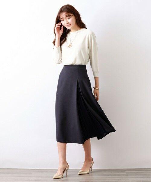 AMACA / アマカ ロング・マキシ丈スカート | トリアセテートドライプラススカート | 詳細3