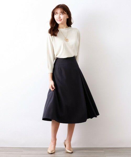 AMACA / アマカ ロング・マキシ丈スカート | トリアセテートドライプラススカート | 詳細4