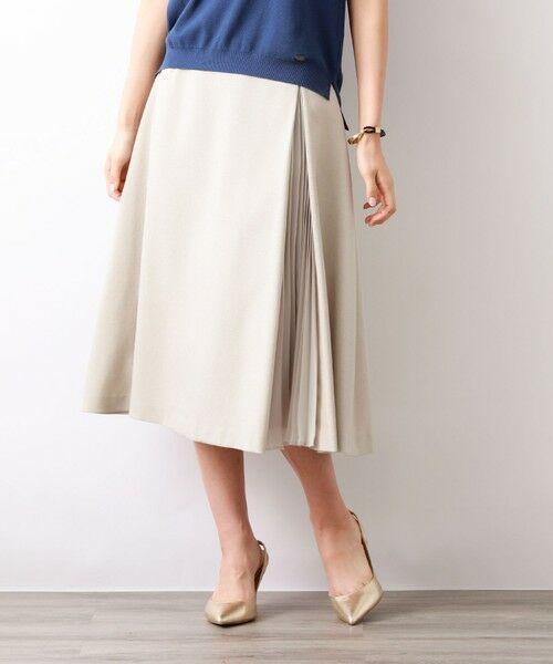 AMACA / アマカ ロング・マキシ丈スカート | トリアセテートドライプラススカート(ベージュ1)