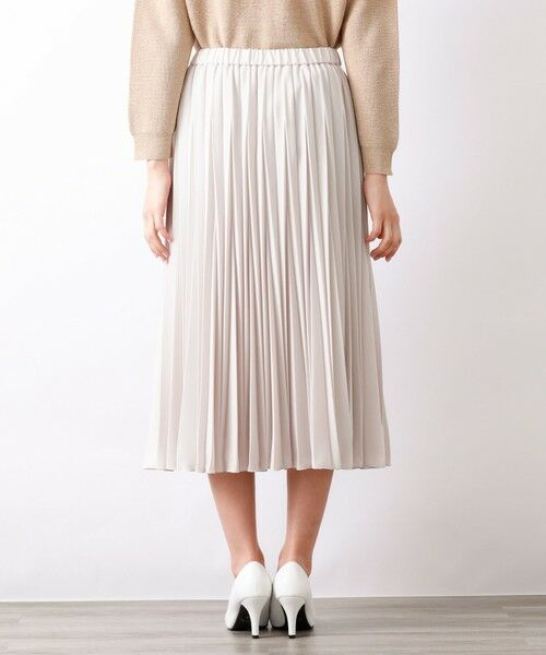 AMACA / アマカ ロング・マキシ丈スカート | パウダーストレッチクレーププリーツスカート | 詳細8