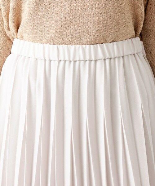 AMACA / アマカ ロング・マキシ丈スカート | パウダーストレッチクレーププリーツスカート | 詳細9