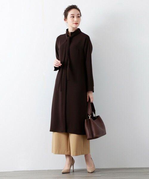 AMACA / アマカ ロング・マキシ丈ワンピース   アムンゼンボウタイワンピース   詳細10