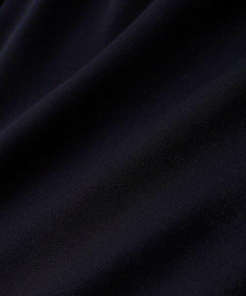 AMACA / アマカ シャツ・ブラウス | ピーチサテンスタンドネックブラウス | 詳細6
