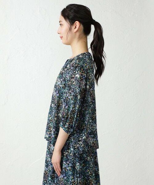 AMACA / アマカ シャツ・ブラウス   【LIBERTY】5分袖ブラウス   詳細6
