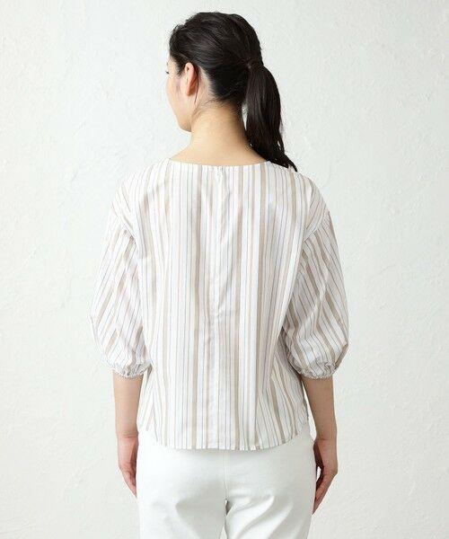 AMACA / アマカ シャツ・ブラウス   LEOFINEストライプブラウス   詳細8