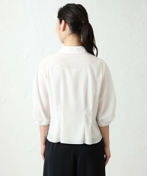 AMACA / アマカ シャツ・ブラウス   ノルディスストレッチブラウス   詳細7