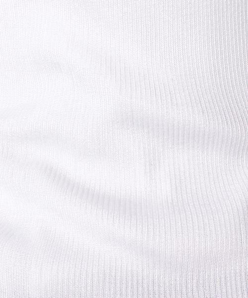 ANAYI / アナイ ニット・セーター | アセテートポリエステル半袖プルオーバー | 詳細5