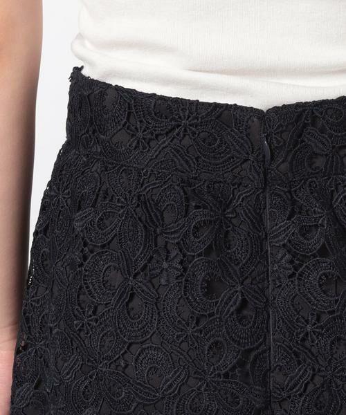 ANAYI / アナイ スカート | モザイクフラワーレースタイトスカート | 詳細7