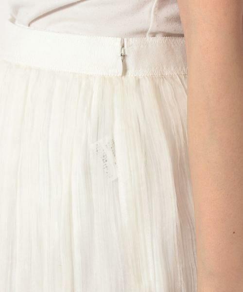 ANAYI / アナイ スカート | シルクオーガンジープリーツスカート | 詳細5