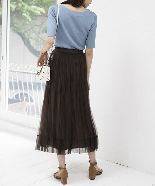 ANAYI / アナイ スカート | シルクオーガンジープリーツスカート | 詳細20