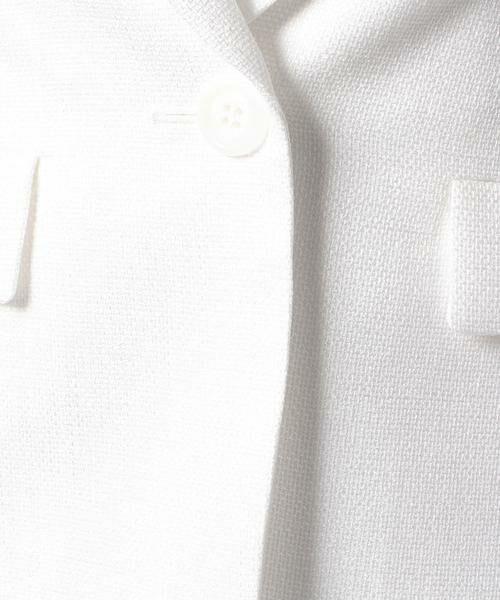 ANAYI / アナイ テーラードジャケット | バスケットストレッチテーラードジャケット | 詳細3
