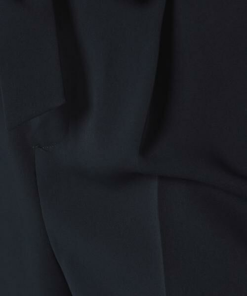 ANAYI / アナイ パンツ | ダブルクロスワイドパンツ(ベルト付き) | 詳細6