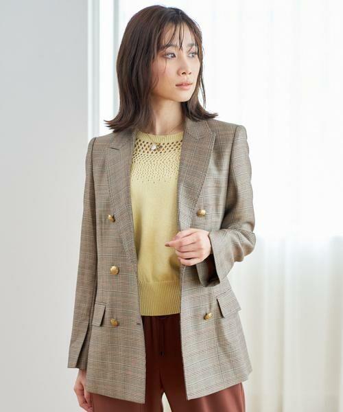 ANAYI / アナイ ニット・セーター   コットンラメリリヤーンメッシュプルオーバー   詳細13