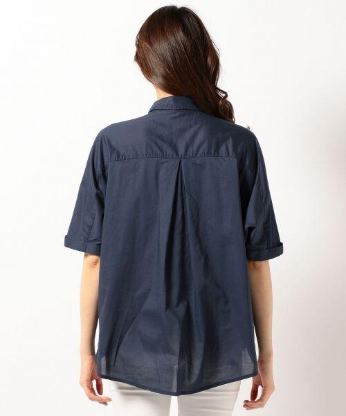 any FAM / エニィファム シャツ・ブラウス | 超長綿オーガニックローン スキッパーシャツ(ビックシルエット) | 詳細6